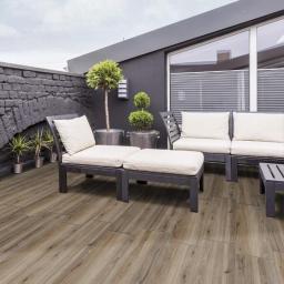 Outdoor Wood Floor Tiles 20mm