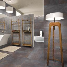 Iron Black Metallic Italian Porcelain Wall & Floor Tiles