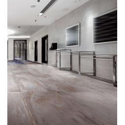 Iron Silver Metallic Italian Porcelain Wall & Floor Tiles