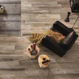 Space Cinnamon Wood Effect Porcelain Italian Tiles For Walls & Floors