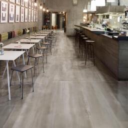 Steel Nikel Metallic Italian Porcelain Wall & Floor Tiles