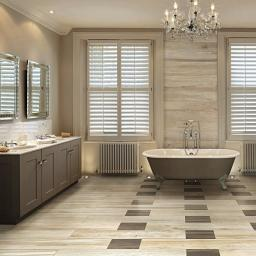 Space Bamboo Wood Effect Italian Porcelain Wall & Floor Tiles