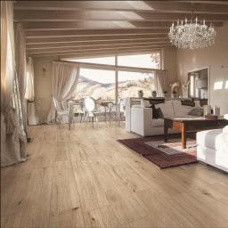 Chero Beige Wood Effect Indoor/Outdoor Italian Porcelain Wall & Floor Tiles