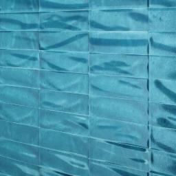 Manhattan Azzurro Blue Craquele Gloss Italian Designer Wall Tiles 7.5 x 30 cm
