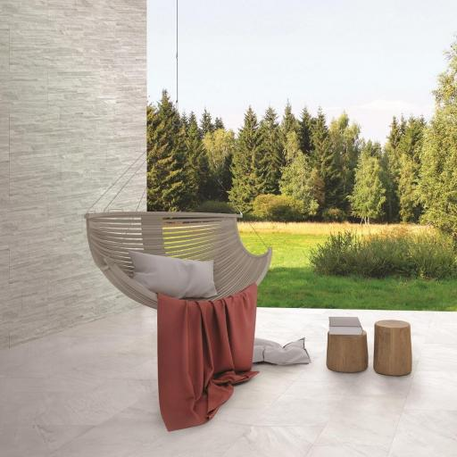 Ocean Pearl Marble Effect Porcelain Tiles & Matching Décor