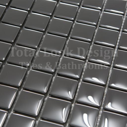 Mosaic Tiles Sheet Mirror Glass Mosaic 30cm X 30cm