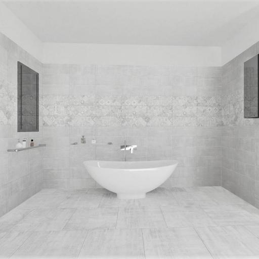 Cardosso White Semi Polished Italian Porcelain Wall & Floor Tiles