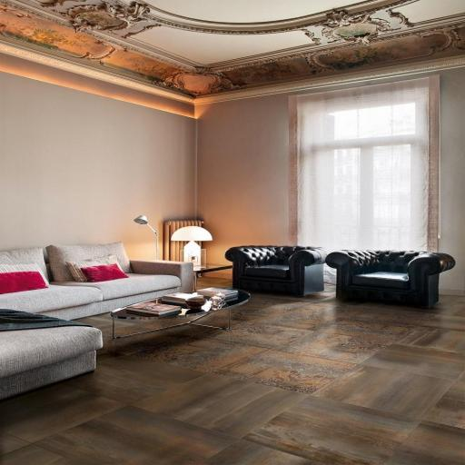 Magic Rust Metallic Italian Porcelain Wall & Floor Tiles