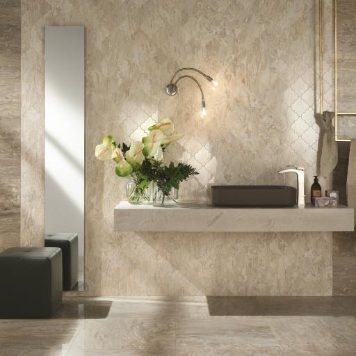 Imp Cappuccino Polished Porcelain Rectified Wall & Floor Tiles