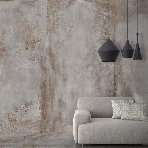 Large Format Metal Porcelain Wall & Floor Slabs Tiles