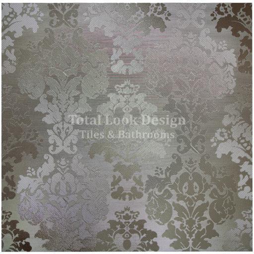 Fashion Bronze Wall Paper Effect Metallic Porcelain Wall & Floor Tiles