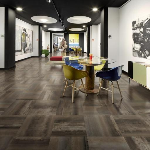 Magic Metal Black Metallic Italian Porcelain Wall & Floor Tiles