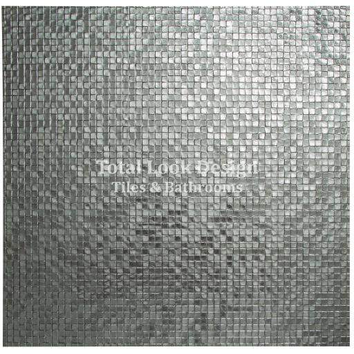 Fashion Silver Metallic Mosaic Effect Metallic Porcelain Wall & Floor Tiles