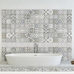 Icons Mix Designer Retro Italian Porcelain Wall & Floor Tiles 20x20