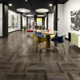Steel Metal Black Metallic Italian Porcelain Wall & Floor Tiles
