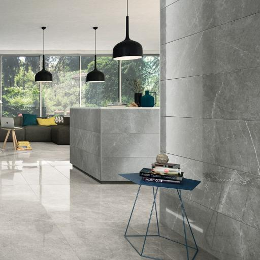 Imp Grigio Imperiale Polished Porcelain Rectified Wall & Floor Tiles