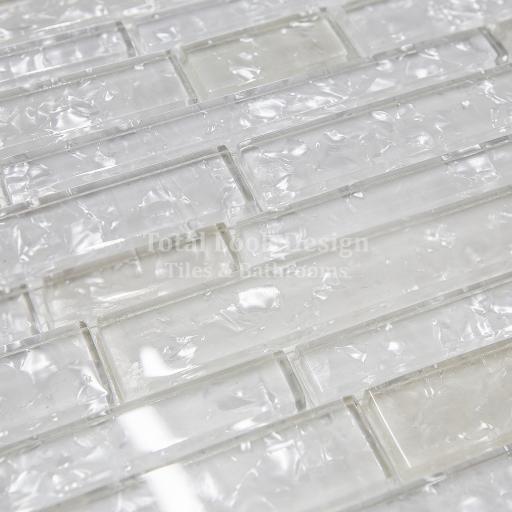 Mosaic Tiles Sheet Zenith White 30 cm X 30 cm