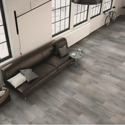 Oxi Titanium Metallic effect Porcelain Wall & Floor Tiles