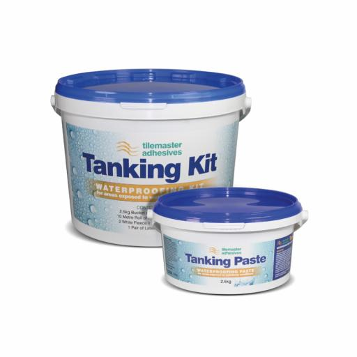 Tilemaster Tanking Kit Waterproofing Tub