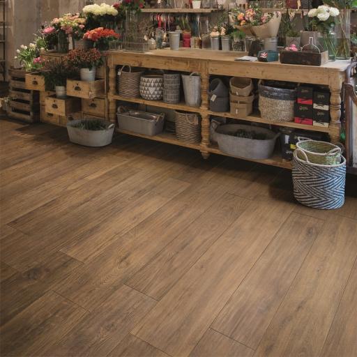 Habitat Rovere Scuro Wood Effect Italian Porcelain Wall & Floor Tiles