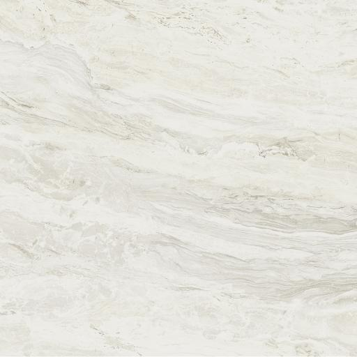 Mainstone White Polished Marble Effect Porcelain Rectified Wall & Floor Tiles