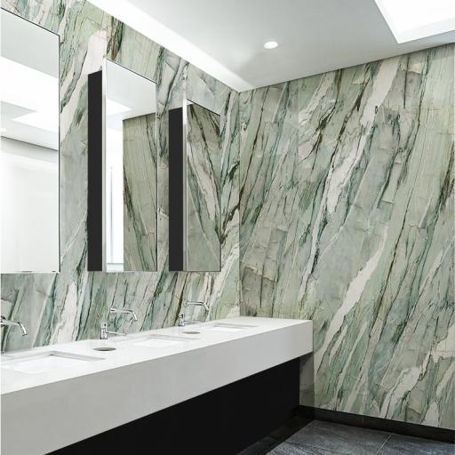 Calacatta Mint Polished Porcelain Wall & Floor Tiles
