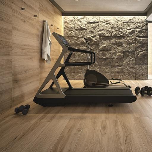 Habitat Rovere Chiaro Wood Effect Italian Porcelain Wall & Floor Tiles