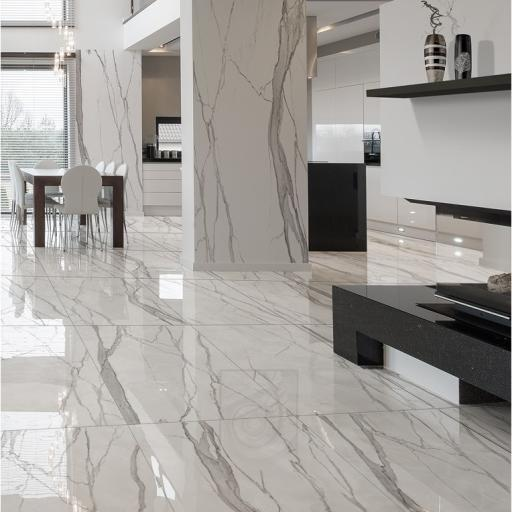 Statuario Imperiale Polished Porcelain Wall & Floor Tiles