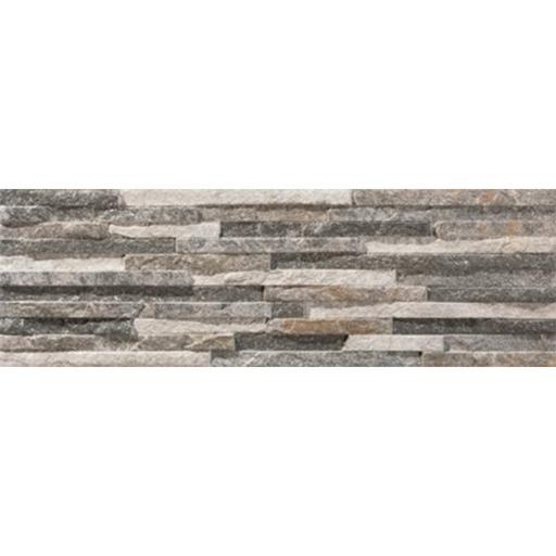 Centenar Grey Split Face Matt Brick Wall & Floor Tiles
