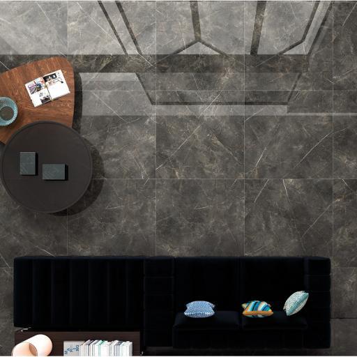 Gauguin Dark Polished Porcelain Wall & Floor Tiles