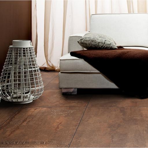 Metal Rust Metallic Italian Porcelain Tiles & Matching Décor