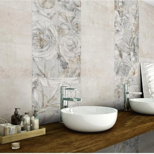 Universal Mirabell Décor Porcelain Wall & Floor Tiles