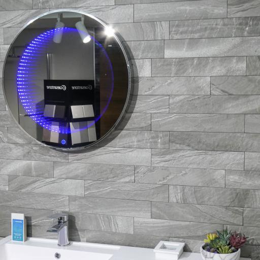 Minerli Zinco Grey Brick Italian Porcelain Wall & Floor Tiles