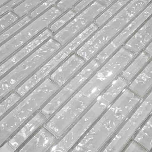Mosaic Tiles Sheet Zenith White 30 cm X 30 cm