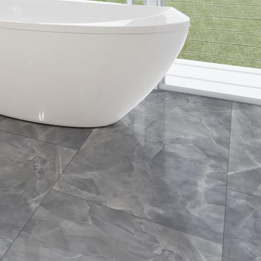 Onyx Grey Polished Porcelain Wall & Floor Tiles