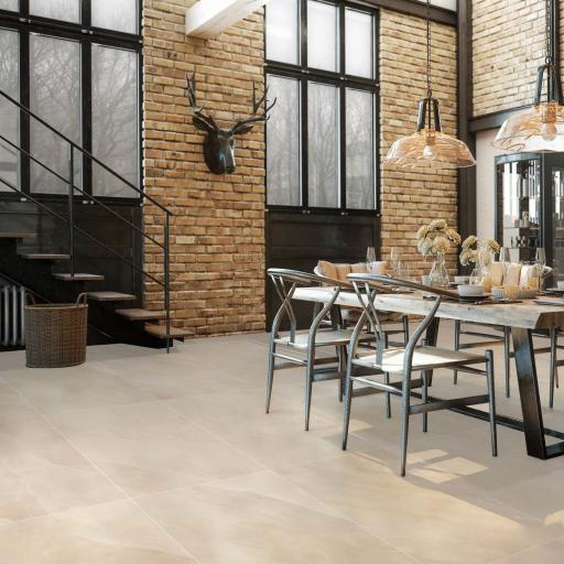 Ocean Sand Marble Effect Porcelain Wall & Floor Tiles 120 x 60cm