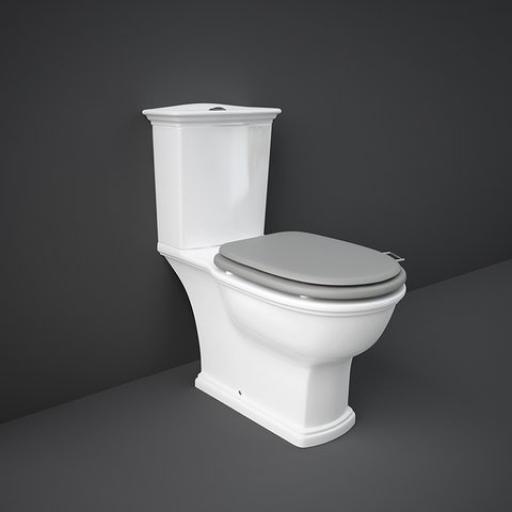 Washington Close Coupled Toilet with Soft-Close Seat
