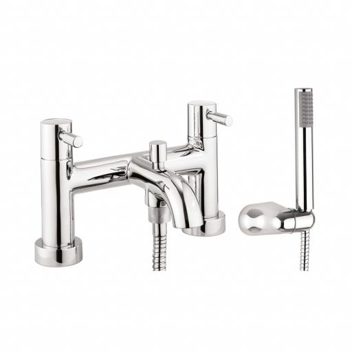 Crosswater Fusion Bath Shower Mixer with Kit
