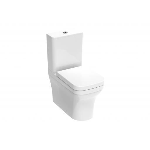 INDIGO close coupled WC Including soft close seat and cistern