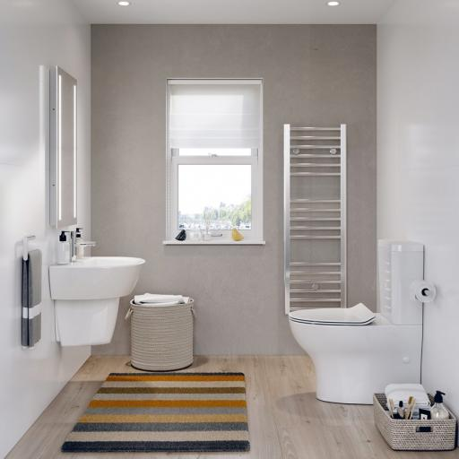 K Close Coupled Toilet with Cistern & Soft Close Seat