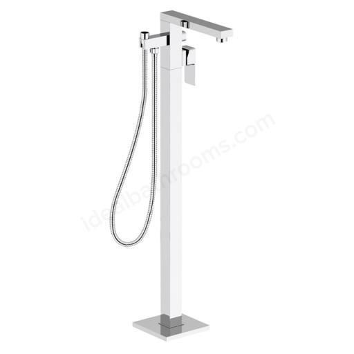 BAGNODESIGN Zephyr Floor Mounted Bath/Shower Mixer With Hand Shower