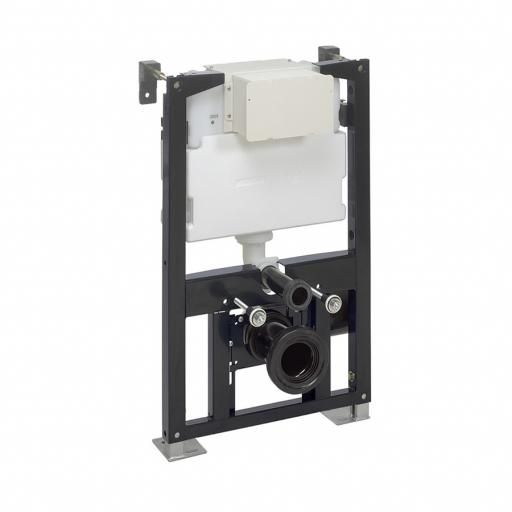 Crosswater Wall Hung Toilet Support Frame And Flush Plates
