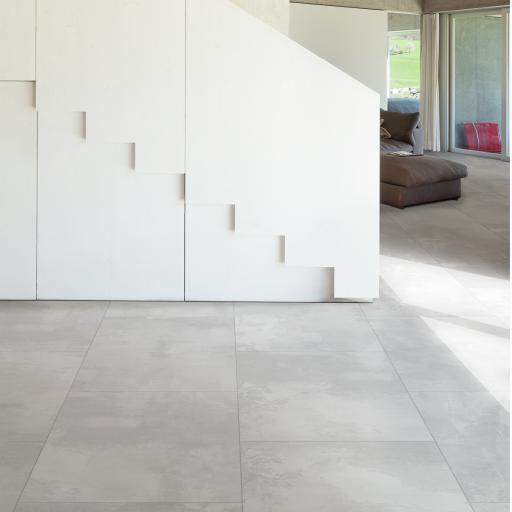 Cool Plaster White Porcelain Wall & Floor Tiles 60 x 60